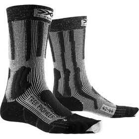 X-Socks Trek Pioneer Socks Herrer, opal black/flocculus white